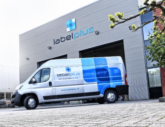 Label Plus Eigen Wagenpark Voor Snelle Leveringen